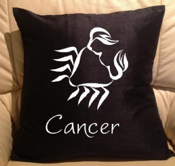 Horoscope - star sign Cancer pillow, sofa cushions